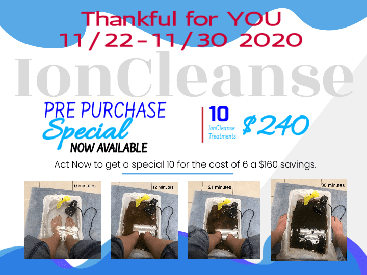 Thankful for YOU - Pre Purchase Your IonClenses