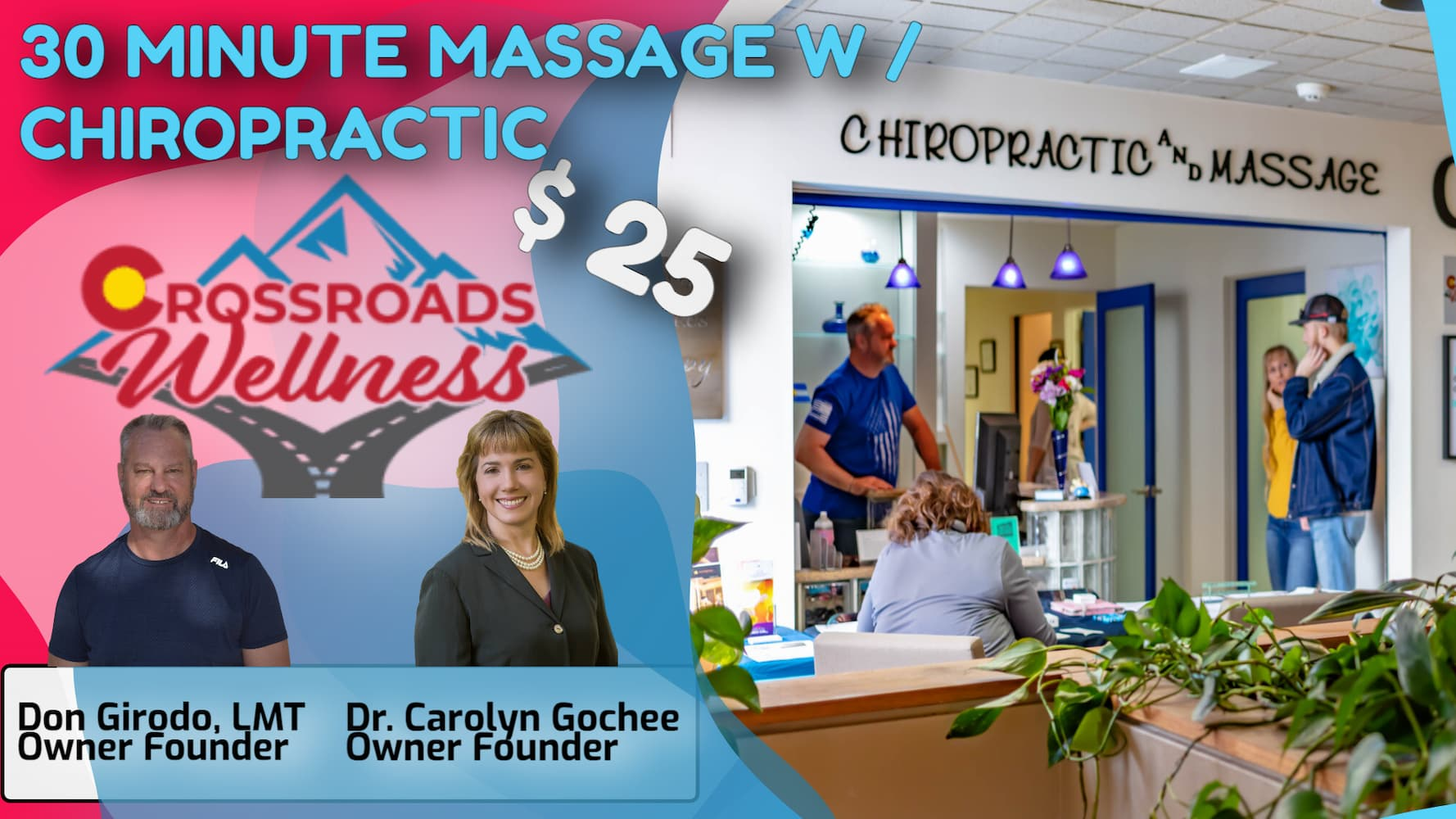 30 MINUTE MASSAGE With CHIROPRACTIC