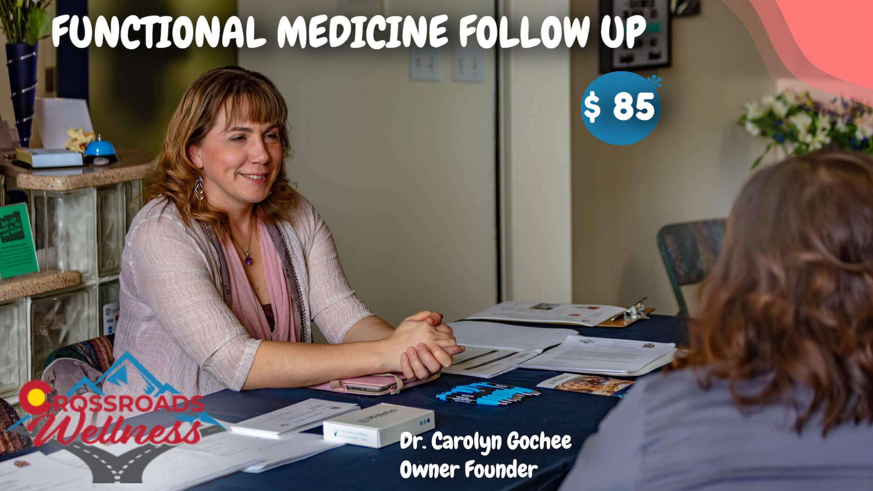 FUNCTIONAL MEDICINE FOLLOW UP with Dr. Gochee